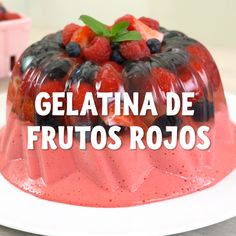 Consent to your with this delicious from faciles gourmet de cocina de postres faciles pasta saludables vegetarianas Gelatin Recipes, Jello Recipes, Alcohol Recipes, Köstliche Desserts, Delicious Desserts, Yummy Food, Food Deserts, Mango Cake, Cooking Recipes