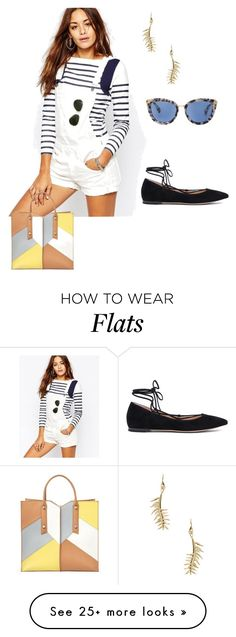"""Untitled #339"" by am464 on Polyvore featuring G-Star, Gianvito Rossi, Eddie Borgo and Botkier"