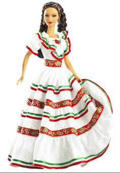 mexican doll clothes