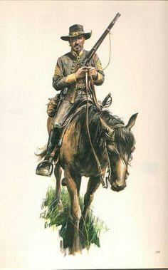 ACW- Confederate: Stuart's cavalry