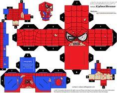 Cubee - Zombie Spider-Man by CyberDrone.deviantart.com on @deviantART