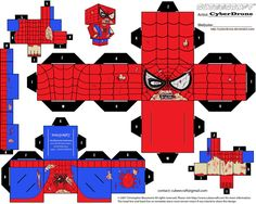 Cubee - Zombie Spider-Man by CyberDrone.deviantart.com on @deviantART