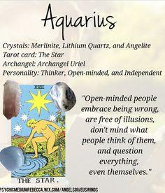 Aquarius crystals Capricorn Aquarius Cusp, Aquarius Quotes, Aquarius Woman, Astrology And Horoscopes, Astrology Zodiac, Zodiac Signs, Moon Signs, Zodiac Traits, Archangel Uriel