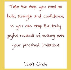 Empowerment personal growth