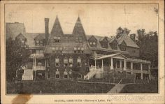 Hotel Oneonta, Harveys Lake, Pennsylvania