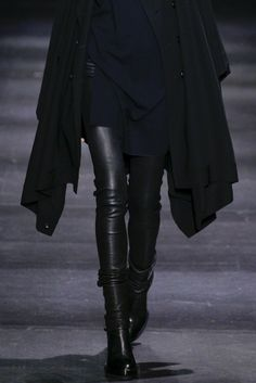 #leather hautekills: Ann Demeulemeester f/w 2014