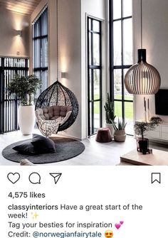 chic black and white living room interior, modern living room decor, apartment d . - chic black and white living room interior, modern living room decor, apartment d – - Cozy Living Rooms, Home Living Room, Interior Design Living Room, Living Room Designs, Living Room Decor, Interior Modern, Lounge Decor, Black And White Living Room, Black White