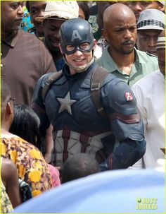 Chris Evans, en nuevas imágenes de rodaje de Capitán América 3