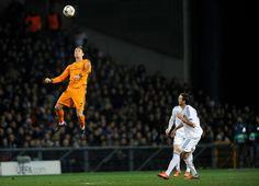 Increíble el salto de CR7 en partido de Champions League 2013.