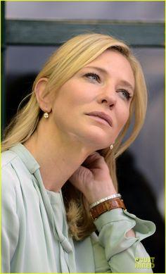 Cate Blanchett on the set of Blue Jasmine 2012