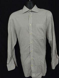 Peter Millar Men's Button Front Shirt,Long Sleeve,Size L,100% Cotton #PeterMillar #ButtonFront