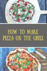 What could be more fun for 4th of July than Pizza on the Grill. Find out how on Mom's Kitchen Handbook