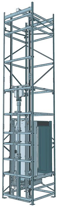 Open Steel Frame Building : Images about lift on pinterest steel structure