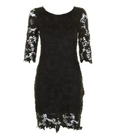 Black Jenny Dress by Darling#zulily