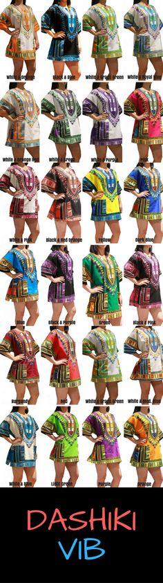 Beautiful Vibrant Dashiki Shirts - dashikivib.com