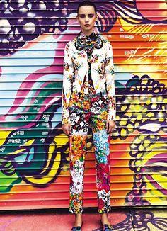 Makeup Artist Virginia Le Fay for Vogue Brasil April 2013   Ford Models