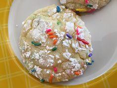 Funfetti Birthday Cookies - so easy and taste like birthday cake!  #MyAllrecipes #AllrecipesAllstars #AllstarsMarchContest