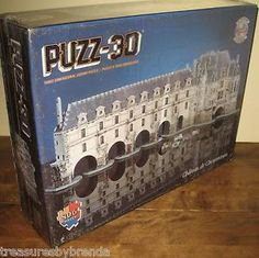 Wrebbit Puzz 3D Chateau de Chenonceau Jigsaw Puzzle $39.95 with free shipping.