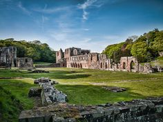https://flic.kr/p/Qgoric | St. Mary of Furness | Furness Abbey, Cumbria.  Founded in 1123 by Stephen, Count of Boulogne, it was built originally for the Order of Savigny. Located in the 'Valley of the Deadly Nightshade' to the south of Dalton-in-Furness, the abbey is built entirely out of local sandstone.  #Architecture #Colour #Photography  www.richardsugden.com  © Richard Sugden 2016 All rights reserved.