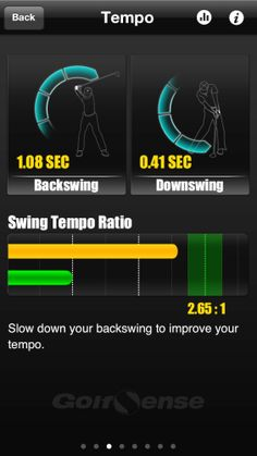 Golf Apps, Slow Down, Improve Yourself