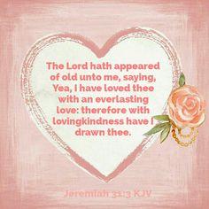 Jeremiah 31:3 KJV
