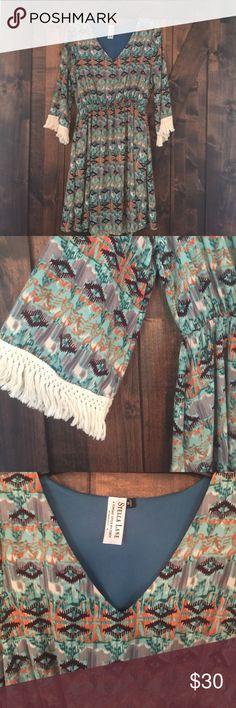 Selling this Bell Sleeved dress on Poshmark! My username is: eah0023. #shopmycloset #poshmark #fashion #shopping #style #forsale #Stella Lane #Dresses & Skirts