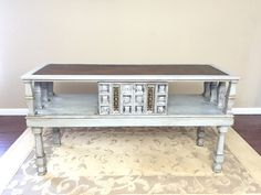 SOLD - Entryway - Sideboard Buffet - Entertainment Center - Sofa Table by madenewdesignct on Etsy https://www.etsy.com/listing/259182599/sold-entryway-sideboard-buffet