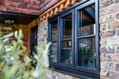 Timber windows or wooden windows are strong, yet sophisticated, and available in storm, flush or sash styles, complimenting any type of property Wooden Sash Windows, Timber Windows, Contemporary Style, Hardwood, Home Decor, Natural Wood, Room Decor, Home Interior Design, Solid Wood