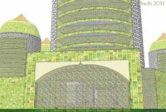 9 Torres -Diseño e infografía por Aredis3d