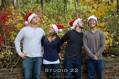 Outdoors | photography | Christmas | fun | Fall | autumn | couples | photo | lightroom | dslr | love | holidays | Santa hat | family | brother | sister