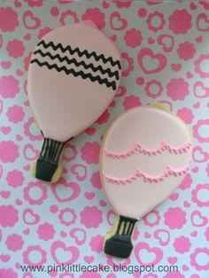 Pink Little Cake: Hot Air Balloon Cookies