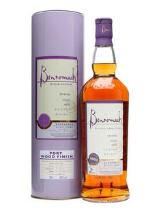 Benromach 2000 / Port Wood Finish : Buy Online - The Whisky Exchange - A 2000 vintage whisky from Benromach, Gordon & Macphails distillery near the town of Forres. This was distilled in 2000 and has been finished in Port casks, continuing the experiments started by t...