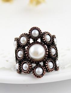 Retro Copper Pearls Ring <3