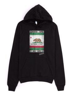 California Extinct Unisex California Fleece Pullover Hoodie