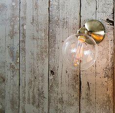 [全2色]TANGOクラシックウォールライト(クリア×ゴールド)(電球なし):ヴィンテージ&レトロ,ゴールド系,Home's Style(ホームズスタイル)のブラケット・その他照明の画像