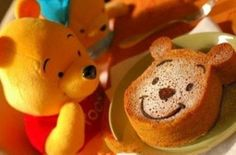 The bear could not bear to eat. I love winnie pooh...