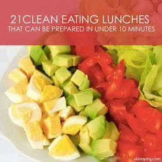 Clean lunches