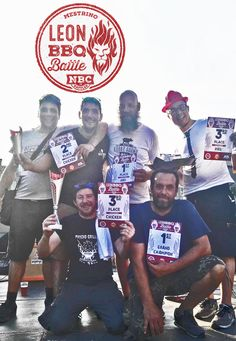 Leon BBQ Quick Battle, Mestrino (PD) Grand Champion: Psycho Griller BBQ Team e Reserve Grand Champion: Bergamo BBQ Team