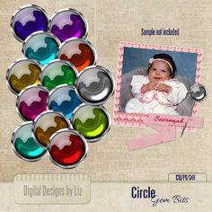 Circle Gem Bits