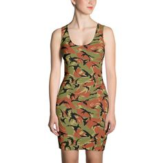 Women's Oman DPM CAMO Dress