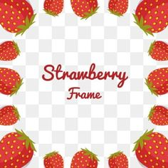 Strawberry Flower, Abstract, Frame, Flowers, Summary, Picture Frame, Frames, Royal Icing Flowers, Flower