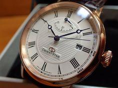 yuubido | Rakuten Global Market: Orient ORIENT watch ORIENTSTAR Orient star elegant classic mechanical automatic movement (bird nesting hands) warm white WZ0311EL men