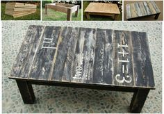 20 Easy & Free Plans to Build a DIY Coffee Table - DIY & Crafts