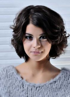 Short Hair Styles for Wavy Hair 2014  hmmm.....maybe?!