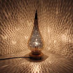 Orientalische Lampe Lampen Stehlampe Marokkanische Messing Kupfer DMIHA
