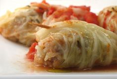 Lazy cabbage rolls with cavena nuda oats. Substitute ground soy for the ground beef