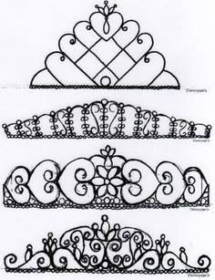 Gumpaste Crown TemplatePdfPdf Download Legal Documents Template