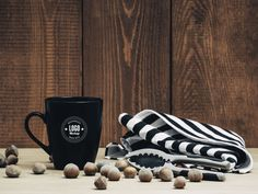 Dark Coffee Mug Mockup