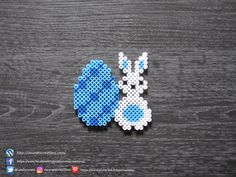 Pearler Bead Patterns, Pearler Beads, Blue Eggs, Beading Patterns, Easter Bunny, Creations, Projects, Plaque, Volkswagen