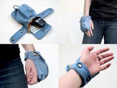 Sewing: Cargo Wrist Wallet sewing pattern
